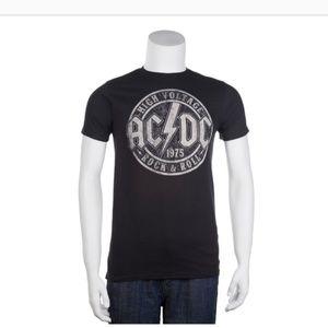 AC/DC High Voltage Tee, Black. Size M. NWOT